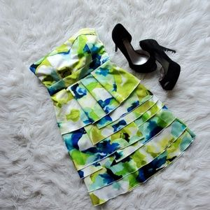 Dresses & Skirts - Formal Strapless Watercolor Dress